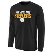 Pittsburgh Steelers NFL Pro Line Statement Long Sleeve T-Shirt - Black