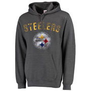 Pittsburgh Steelers Majestic Big & Tall Kick and Return Pullover - Charcoal