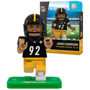 James Harrison Pittsburgh Steelers OYO Sports Generation 5 Player Minifigure