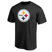 Pittsburgh Steelers NFL Pro Line Primary Logo T-Shirt - Black