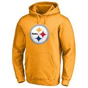 Pittsburgh Steelers NFL Pro Line Primary Logo Hoodie - Gold