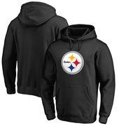 Pittsburgh Steelers NFL Pro Line Big & Tall Primary Logo Hoodie - Black