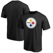 Pittsburgh Steelers NFL Pro Line Big & Tall Primary Logo T-Shirt - Black