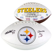 Heath Miller Pittsburgh Steelers Fanatics Authentic Autographed White Panel Football with