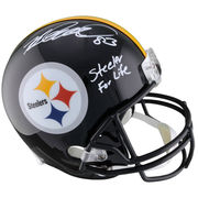 Heath Miller Pittsburgh Steelers Fanatics Authentic Autographed Riddell Replica Helmet with