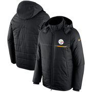 Pittsburgh Steelers Nike Champ Drive Sideline Full-Zip Jacket - Black