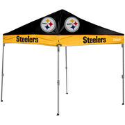 Pittsburgh Steelers Coleman 10' x 10' 2-Tone Straight Leg Canopy