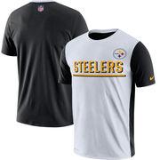 Pittsburgh Steelers Nike Champ Drive 2.0 Performance T-Shirt - White