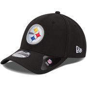 Pittsburgh Steelers New Era Youth Team Classic 39THIRTY Flex Hat - Black