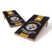 Pittsburgh Steelers 2' x 4' XL Shield Tailgate Toss Set