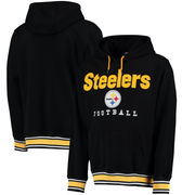 Pittsburgh Steelers NFL Pro Line by Fanatics Branded Legacy Pullover Hoodie - Black