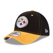 New Era Pittsburgh Steelers Black NFL Kickoff Neo 39THIRTY Flex Hat