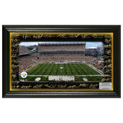 Pittsburgh Steelers Highland Mint Signature Gridiron Panoramic Photo -