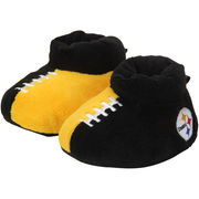 Pittsburgh Steelers Youth Puffy Ankle Slippers