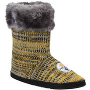 Pittsburgh Steelers Women's Peak Knit Boots