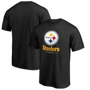 Pittsburgh Steelers NFL Pro Line Team Lockup T-Shirt - Black