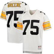 Joe Greene Pittsburgh Steelers Mitchell & Ness 1976 Replica Retired Player Jersey - White