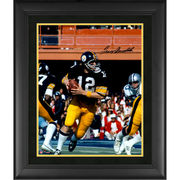 Terry Bradshaw Pittsburgh Steelers Fanatics Authentic Framed Autographed 16