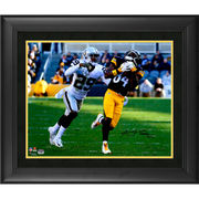 Antonio Brown Pittsburgh Steelers Fanatics Authentic Framed Autographed 16