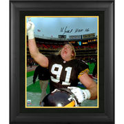 Kevin Greene Pittsburgh Steelers Fanatics Authentic Framed Autographed 16