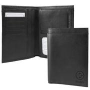 Pittsburgh Steelers Traveling Team Passport Wallet - Black