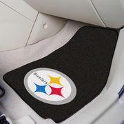 Pittsburgh Steelers 2-Piece Carpet Car Mat Set