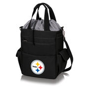 Pittsburgh Steelers Activo Cooler Tote - Black