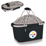 Pittsburgh Steelers Metro Basket Collapsible Tote - Black
