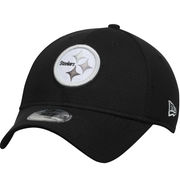 Pittsburgh Steelers New Era Team Color Tone Tech Redux 39THIRTY Flex Hat - Black