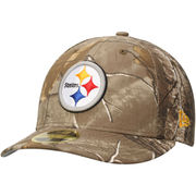 Pittsburgh Steelers New Era Low Profile 59FIFTY Hat - Realtree Camo