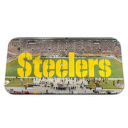 Pittsburgh Steelers WinCraft Stadium Crystal Mirror License Plate -