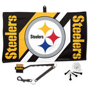 Pittsburgh Steelers WinCraft Waffle Towel Golf Gift Set