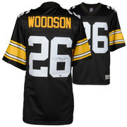 Rod Woodson Pittsburgh Steelers Fanatics Authentic Autographed Black Proline Jersey with