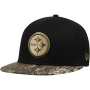 Pittsburgh Steelers New Era Rambo 59FIFTY Fitted Hat - Black/Realtree Camo