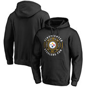 Pittsburgh Steelers NFL Pro Line Firefighter Pullover Hoodie - Black