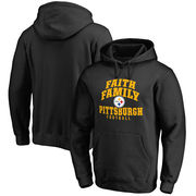 Pittsburgh Steelers NFL Pro Line Faith Family Pullover Hoodie - Black