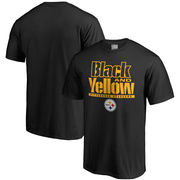Pittsburgh Steelers NFL Pro Line Hometown Collection T-Shirt - Black