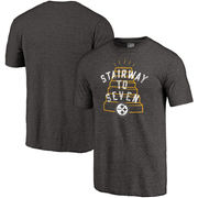 Pittsburgh Steelers NFL Pro Line Hometown Collection Tri-Blend T-Shirt - Black