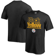 Pittsburgh Steelers NFL Pro Line Youth Hometown Collection T-Shirt - Black