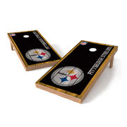 Pittsburgh Steelers 2' x 4' Big Vintage Authentic Tailgate Toss Set