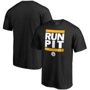 Pittsburgh Steelers NFL Pro Line Run City T-Shirt - Black