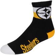 Pittsburgh Steelers For Bare Feet 501 Team La Raya Quarter-Length Socks