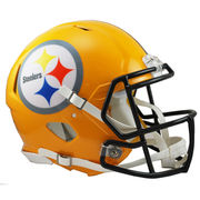 Riddell Pittsburgh Steelers Revolution Speed 2007 Throwback Full-Size Authentic Football Helmet