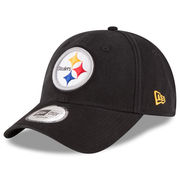 Pittsburgh Steelers New Era Relaxed 49FORTY Fitted Hat - Black