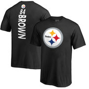 Antonio Brown Pittsburgh Steelers NFL Pro Line Youth Backer Name & Number T-Shirt - Black