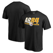 Antonio Brown Pittsburgh Steelers NFL Pro Line Hometown Collection Name & Number T-Shirt - Black