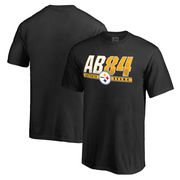Antonio Brown Pittsburgh Steelers NFL Pro Line Youth Hometown Collection Name & Number T-Shirt - Black