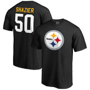 Ryan Shazier Pittsburgh Steelers NFL Pro Line Team Icon Player Name & Number T-Shirt - Black