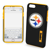Pittsburgh Steelers Bold Dual Hybrid iPhone 7 Plus Case