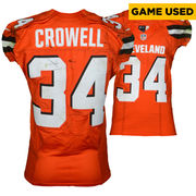 Isaiah Crowell Cleveland Browns Fanatics Authentic Game-Used #34 Orange Jersey vs. Pittsburgh Steelers on November 20